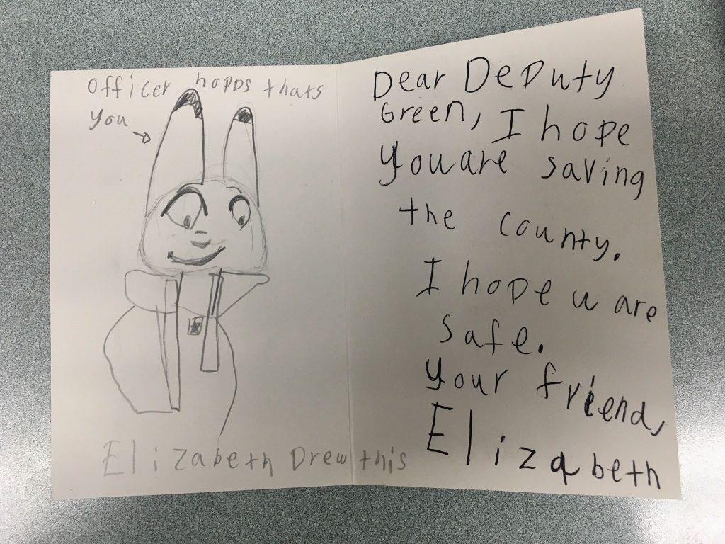 Deputy Pen Pal Letter  U2013 Santa Barbara County Sheriff U0026 39 S Office